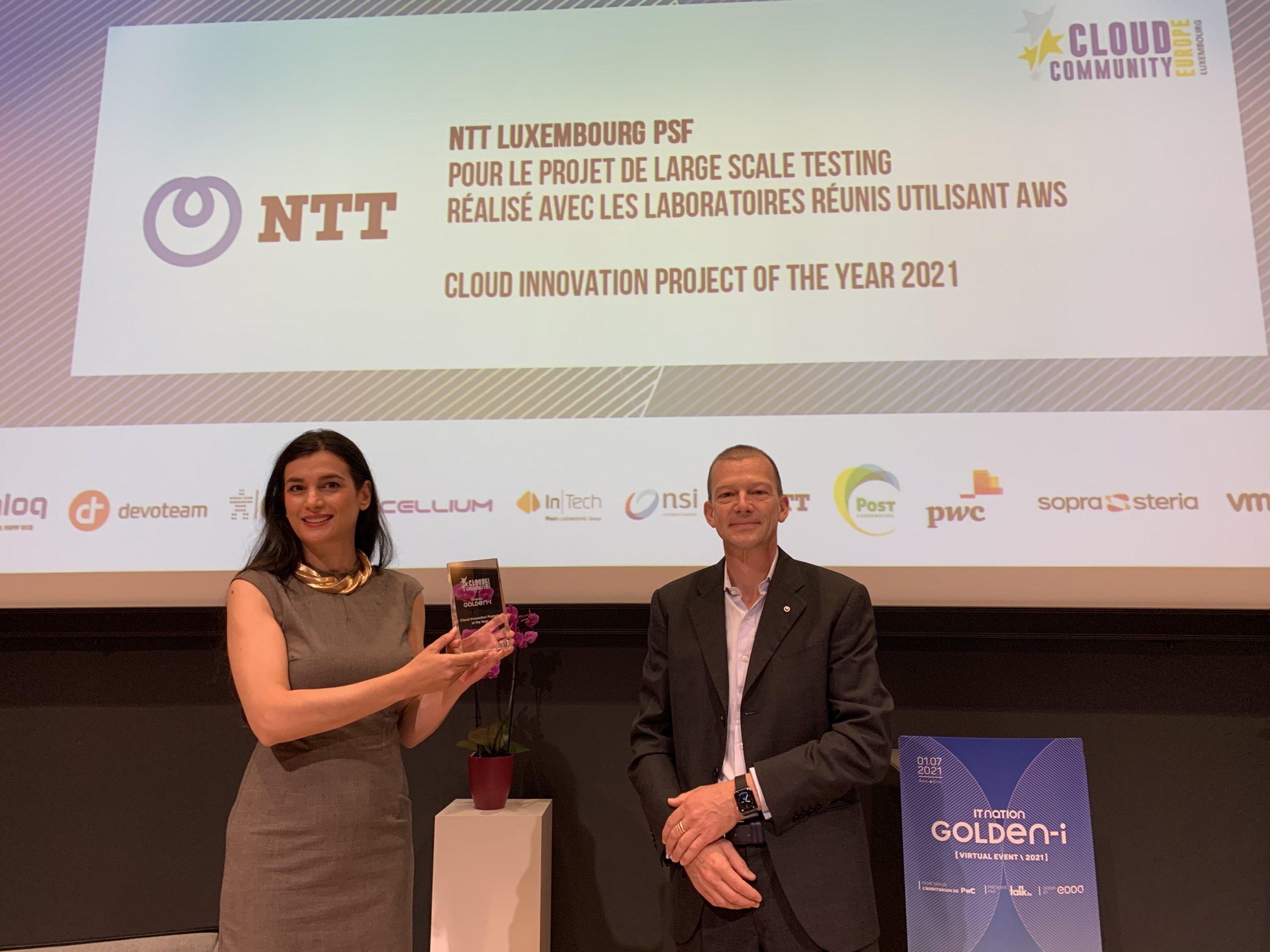 Cloud Innovation Project of the Year_NTT Luxembourg PSF